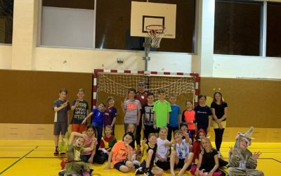 Training am Rosenmontag der Kids 04.03.19
